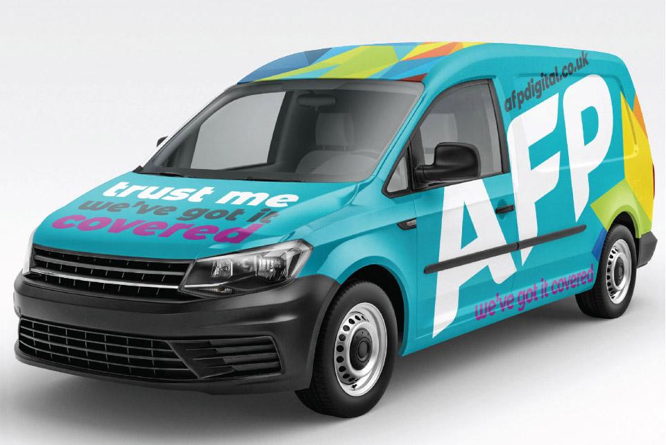 AFP Van